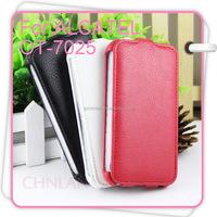 New Luxury Pouch Leather Purse Case Cover For Alcatel One Touch Snap OT-7025 OT-7025D OT7025 OT7025D OT 7025 Phone Wallet