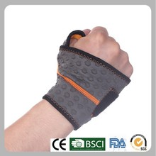Neoprene weight lifting wrist wraps