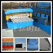 corrugated color steel sheet trapezoidal sheets, aluminium roofing forming machine