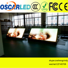 hot selling wifi waterproof steel front access cabinet HD xx full color video p8 outdoor led display
