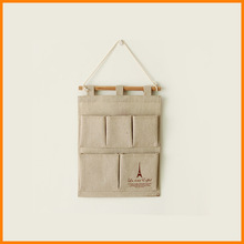 zakka grocery trade of the original single remote control to Jute Bag Storage Bag debris storage / wall Bag 0061