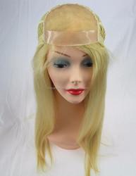 18'' bleachable knots long wigs for white women