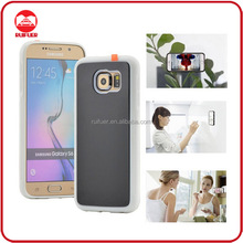New Soft Silicone Sticky Magical Anti Gravity Nano Suction Selfie Case for Samsung Galaxy S6 edge