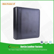 Cheap by in China A5 size black leather cover photo album & crystal cover photo album &photo album