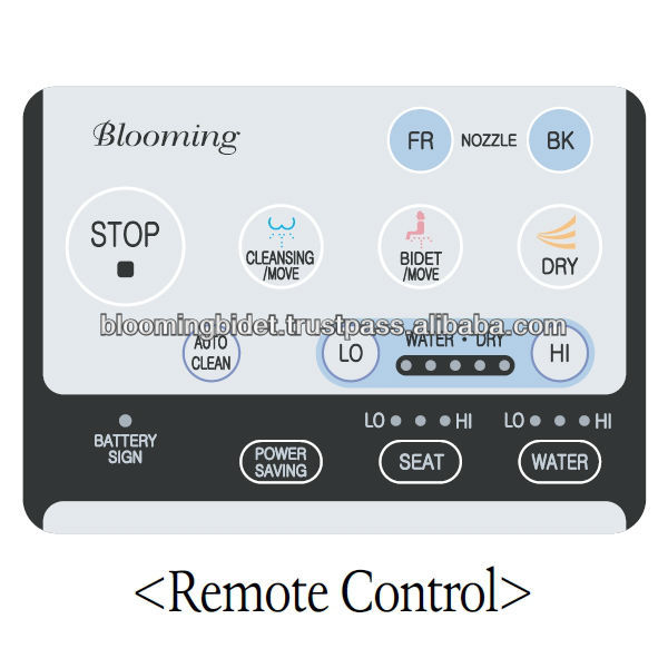 Bidet Toilet Seat With Remote Control Buy Electronic