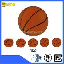 Promotional PU soft slow rebound stress mini basketball
