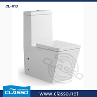 CL-013 cheap ceramic one piece toilet from China Super toilet