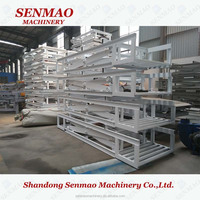 hydraulic double scissor lift table/lift table/1200mm*2400mm lifter table