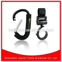 Hot sell- Baby Products Plastic Stroller Buggy Hook&top quality stroller hook