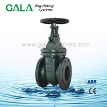 NRS metal seated dn500 rising stem cast iron gate valve din 3352-f4