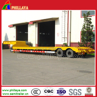 30t 2 axle cheap steel trx suspension trainer for Timber transport
