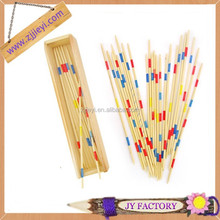 Hot new product for educational toy colorful toy sticks wood craft stick toy