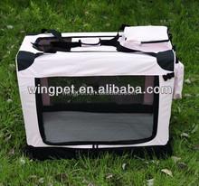 pet product foldable soft dog kennel pet outside bag