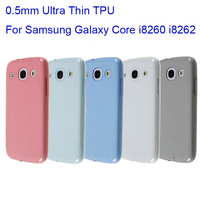 0.5MM Ultra Thin TPU Case for Samsung Galaxy Core i8260 i8262