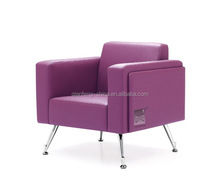 Modern stylish excutive room leather office sofa design 2050#