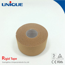 medical/sports rigid strapping tape with pinked edge CE/FDA/ISO
