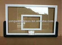 Outdoor or indoor lifetime tempered glass basketball backboard