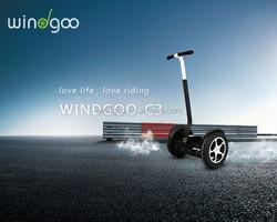 Personal transporter Windgoo vatop two wheel unicycle electric snowmobile