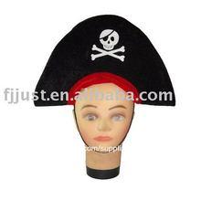 moda cráneo viking pirata sombrero de fiesta