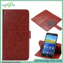 Wholsale Cheap Price Magnetic Flap Universal Flip Case for 4.3 inch/ 4.5 inch/5.0 inc with Card Holder