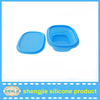 2015 hot sale folding microwave kitchanware silicone rubber bowl with lid