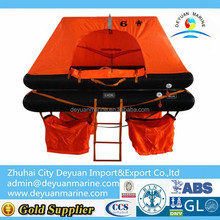 Solas Inflatable Raft Fishing Boat Use Only Marine life rafts with 25 person for sale