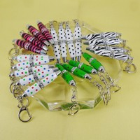 70pcs/lot 7 colors Crystal Ballpoint Pen Novelty Design Pocket Size Rotating action Keyring Bag Pen Jewelry Accessories