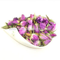 Organic Dried Rose Bud High Quality Rose Tea Natural Flavor Tea Dark And Light Colors Available