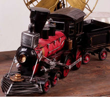 "Vintage Looking Antique 21"" Handcrafted vehicle Car Model locomotive"