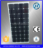 high quality 25years warranty prices for solar panels solar module 120 watt