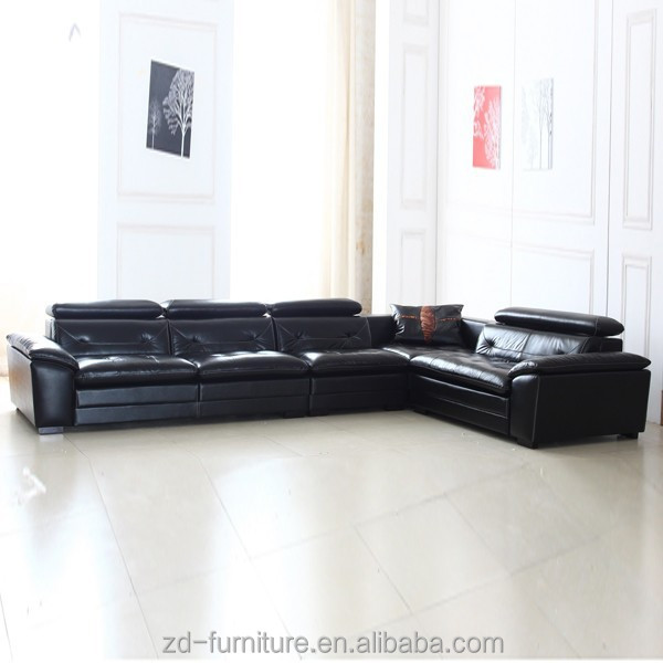 Genuine Leather Sofa Hot Selling Cheap Leather Sectional