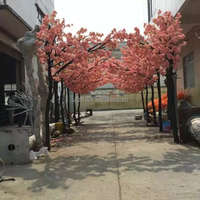 Wedding decoration artificial silk cherry blossom tree indoor&outdoor ornament artificial cherry /sakura flower trees