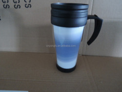plastic and ss paper mugs with paper insert