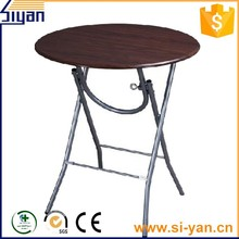 pvc film pressed round table top