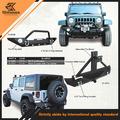 Jeep Wrangler parachoques 87-06 Jeep Wrangler XRC Bumper trasero - negro con textura