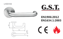 CE Certificated 304 Stainless Steel Hollow Lever Handle
