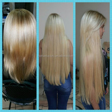 Wholesale Hot Hair Factory Double Drawn Blond Micro Loops Hair Extensions