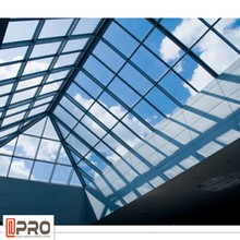 Fashion designs skylight roofing, roof skylight glass building material in China
