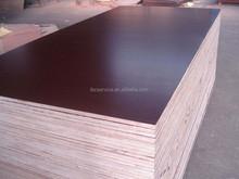 phenolic film faced plywood, poplar core film faced plywood, concrete film faced plywood 18mm