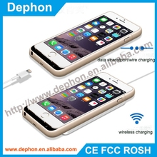 Wireless charging power case for iphone6 wireless charger Receiver case powerbank portable wireless charger for iphone power
