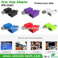 dual usb portable charger Syncstop fast charging adaptor