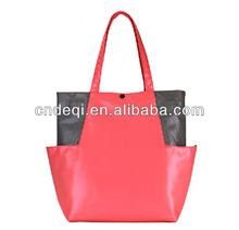 2014 European and American markets new fashion plain designer PU women handbags