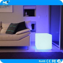 waterproof led cube chair lighting RGB color light led furniture outdoor seat