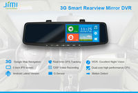 JiMi 2014 Newest 3G Smart Rearview Mirror DVR replacement lcd screen gps