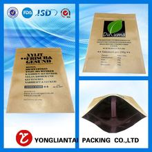 2015 new products of paper kraft bag for food
