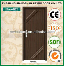 best price pvc interior wooden internal wood doors