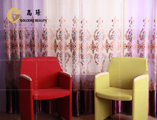 classcial cortinas bordado cortina de la ventana