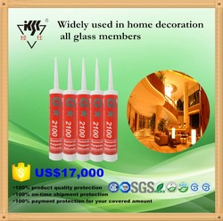 Professional manufacturer Acetoxy GP silicone sealant for glass & window