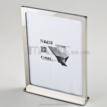Shop-fit Acrylic POP A4 display stand with Steel Pedestal, new arrival board display, POP display