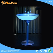 Supply all kinds of islamic LED table,wedding decoration LED table bird